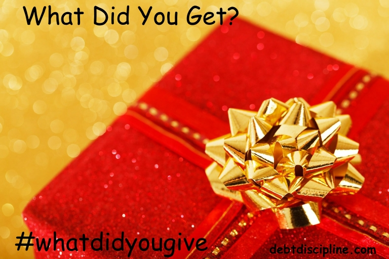 what did you get