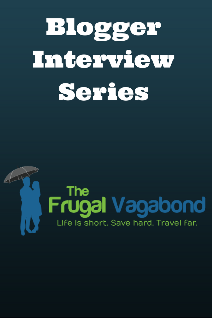 Interview Series: The Frugal Vagabond - Debt Discipline - Frugal Vagabond joins the series of interviews with follow personal finance bloggers.