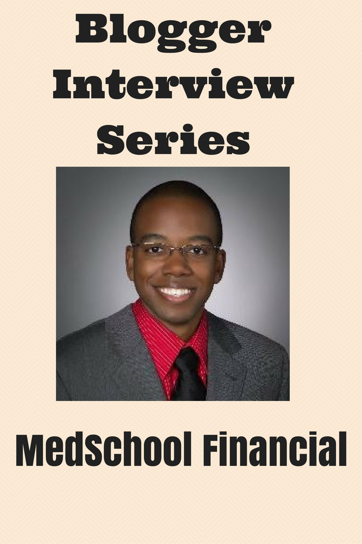 Interview Series: MedSchool Financial - Debt Discipline - This is the fifty-fourth in a series of interviews with fellow personal finance bloggers.