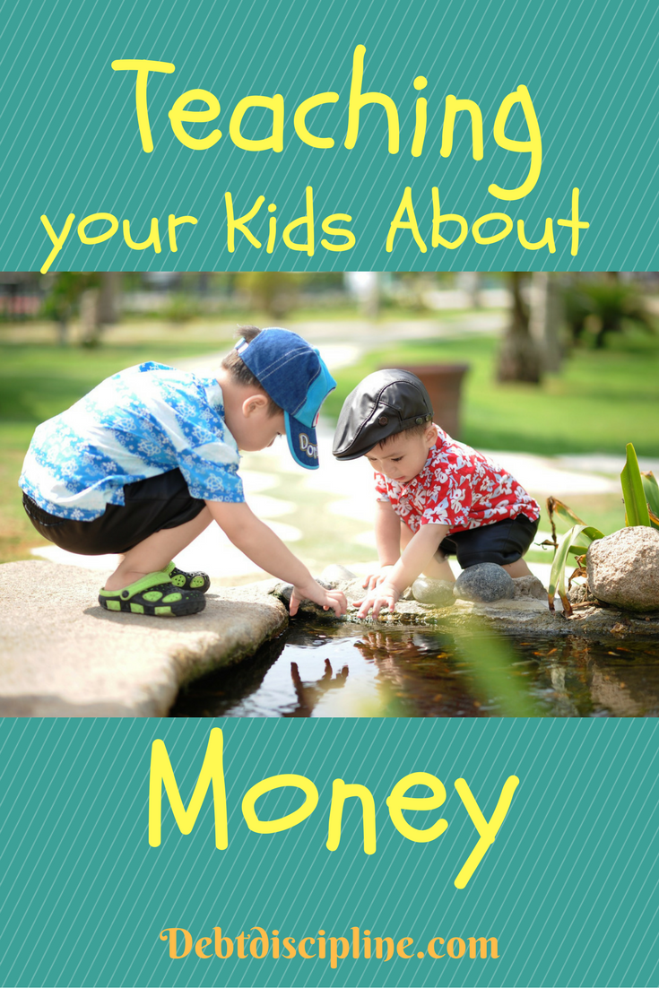 Teaching your Kids about Money - Debt Discipline - The simple question can be answered many different ways. Ten blogger do their best.