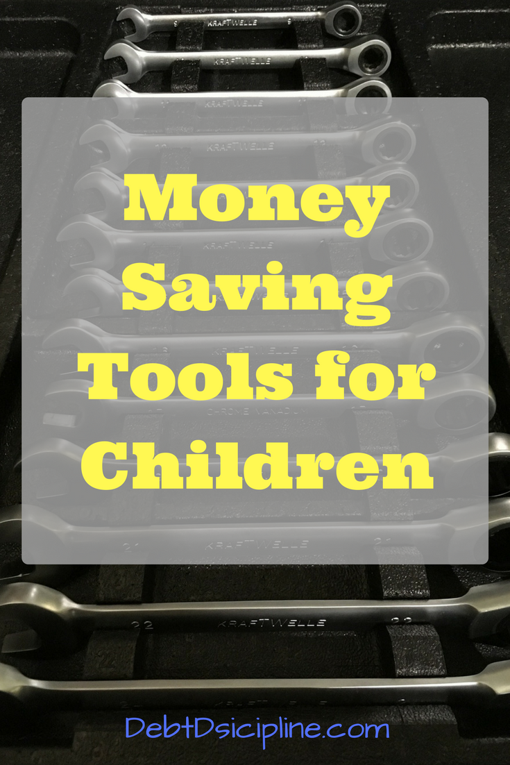 Money Saving Tools for Children - Debt Discipline - You can never start too early teaching your children about money.