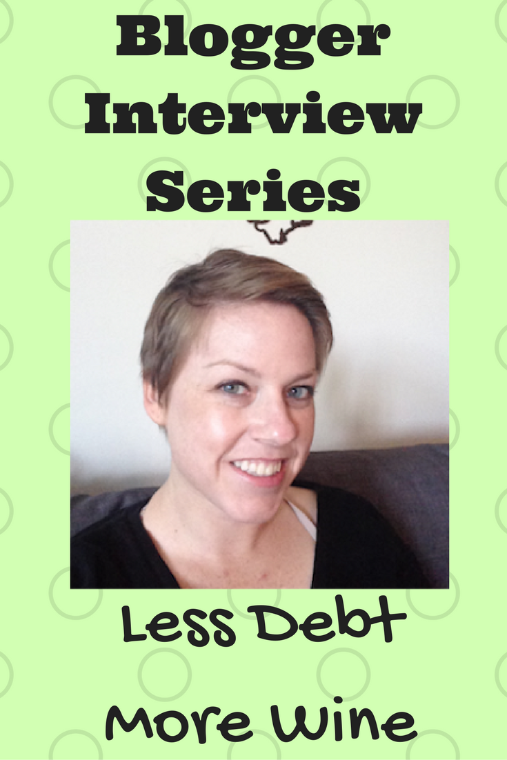 Interview Series: Less Debt More Wine - Debt Discipline - Liz from Less Debt More Wine joins the interview series with fellow personal finance bloggers.