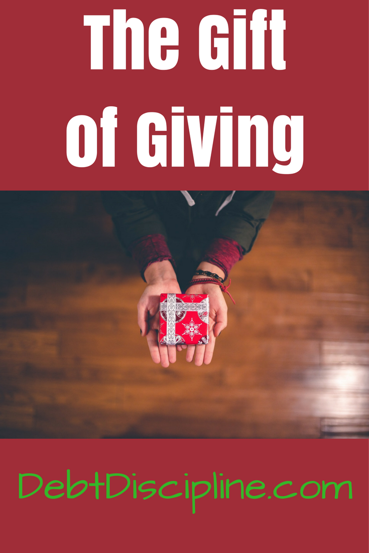 Often during the holidays, we get caught up in getting, but we should be thinking more about giving. What are you giving this Holiday season?