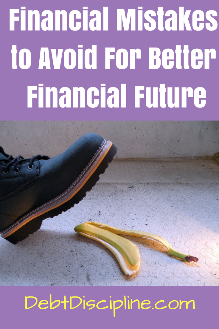 Avoiding these five Financial Mistakes will help you secure a better financial future.