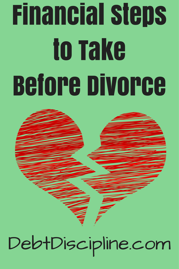 Often financial problems led to marital issues, and possibly divorce. Open communication about money shared goals, and comprise, can help avoid it.